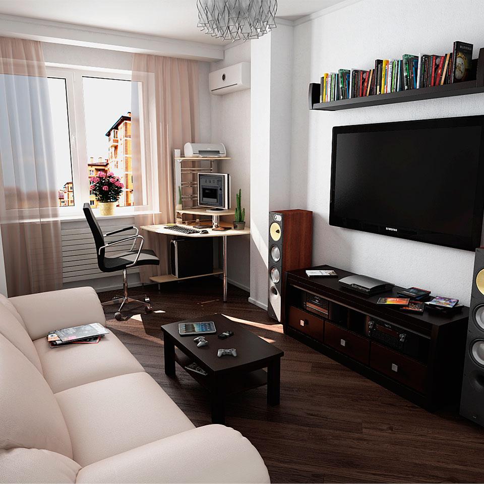 3D планировки 1-к квартир для «Донского Альянса»