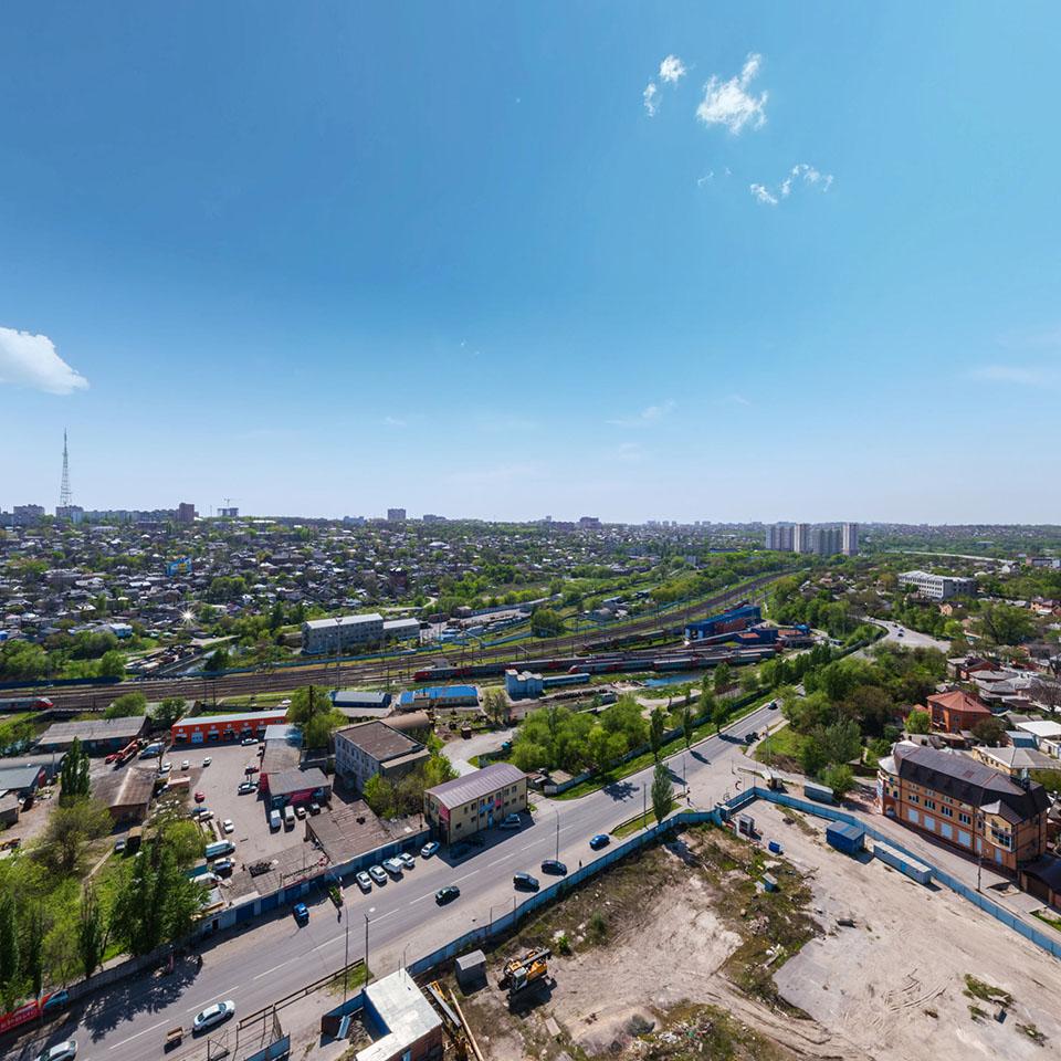 3D панорама ЖК «Времена года» с высоты птичьего полета